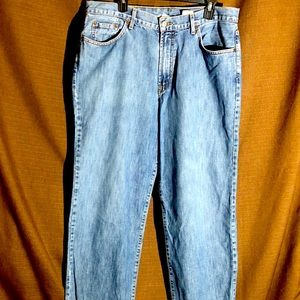Blue Lucky Brand Dungarees Straight Denim Jeans